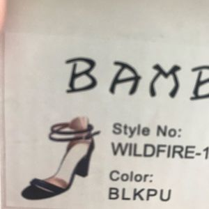 BAMBOO Shoes - BOGO 1/2 off!!!  open toe strappy high heels